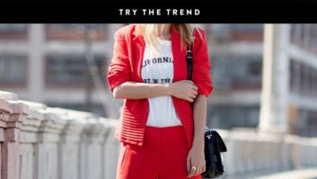 Red Is Going To Be <em>Everywhere</em> This Fall--Stock Up Now!