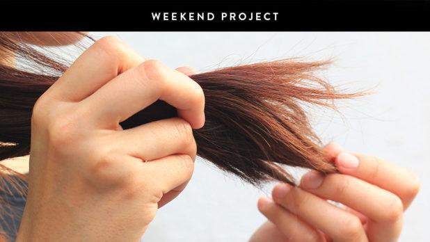Weekend Project: Mix Up A Super Simple Split End Treatment
