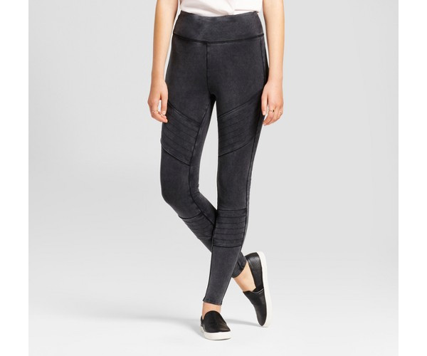 9c2eac2bec3cc Women's High Waist Moto Leggings - Mossimo Supply Co.™ Black