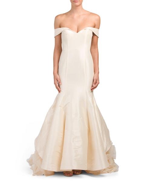 tj maxx bridal