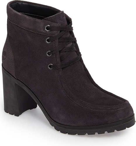 Allington Block Heel Chukka Bootie