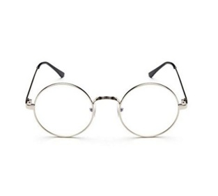billie jean king costume retro round glasses