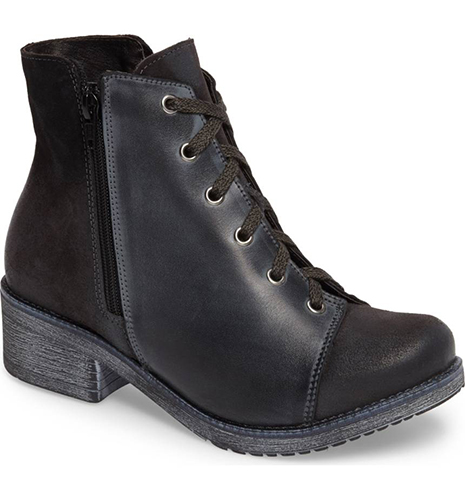 Groovy Lace Up Bootie