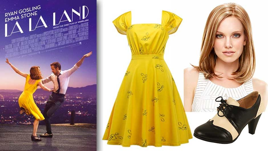 And The Award For Best Halloween Costume Goes To... You As Emma Stone From  La La Land!