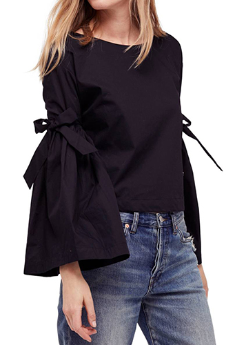 So Obviously Yours Bell Sleeve Top
