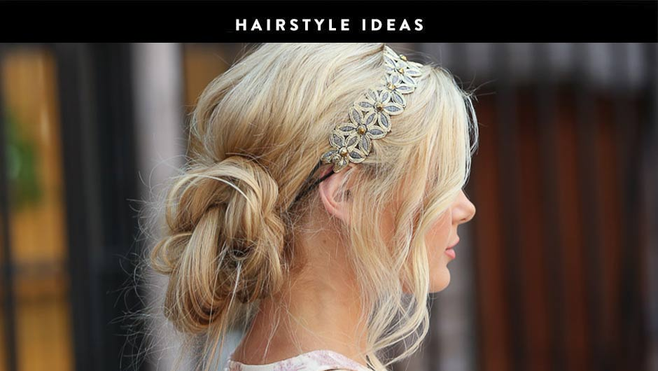 These Cute Bun Hairstyle Ideas Are Perfect For Mornings When There\'s ...