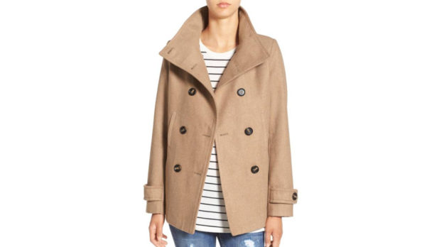 This Is The Camel Peacoat EVERY Woman Needs For Winter (Bonus: It's Only $37!)
