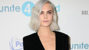 Cara Delevigne Just Dyed Her Hair A Totally Unexpected Color & We Hardly Recognize Her