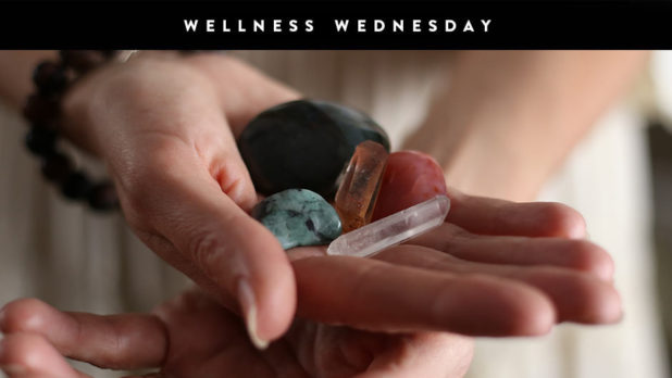 A Beginner's Guide To Using Crystals To Relax & De-Stress #WellnessWednesday