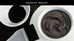 Weekend Project: Make Your Own Charcoal Face Mask
