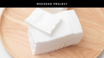 Weekend Project: Make Your Own Cleansing Facial Wipes