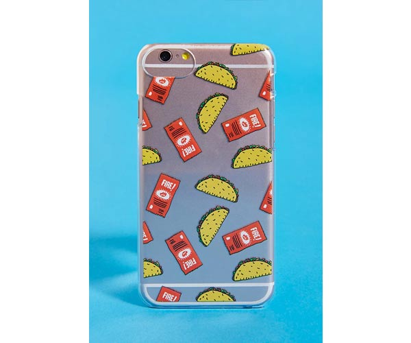 taco bell x F21 phone case