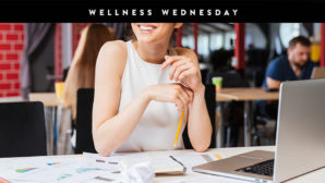 Try These Simple, Yet Effective Ways To Be More Active At Work #WellnessWednesday