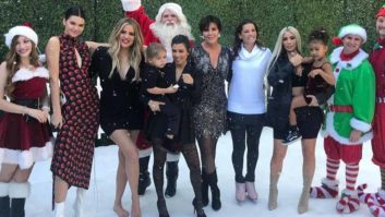 Can You Spot Khloe's Baby Bump In This KUWTK Christmas Special Photo?