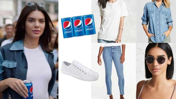 How To DIY A Kendall Jenner Pepsi Commercial Halloween Costume This Year