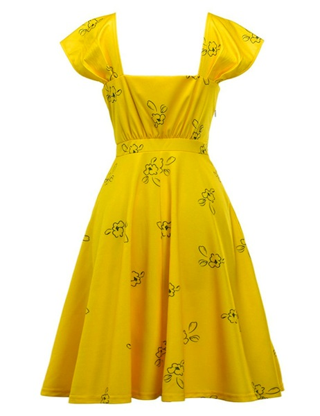 la la land yellow dress halloween costume