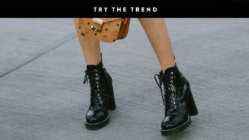The One Boot You Need For Fall? Lace-Up Booties!