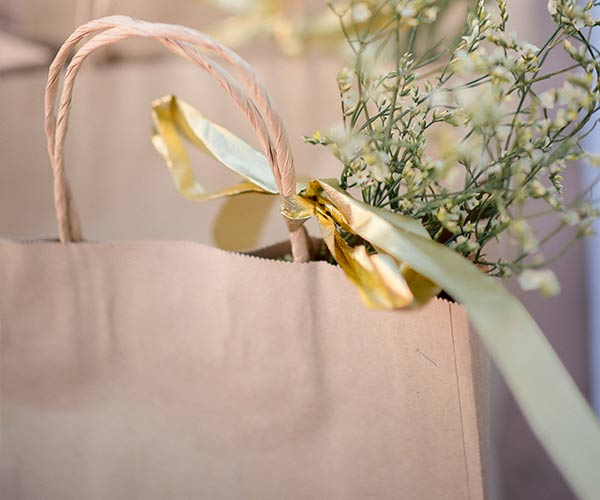 3. Welcome Bags