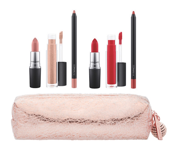 MAC Snowball Lip Bag