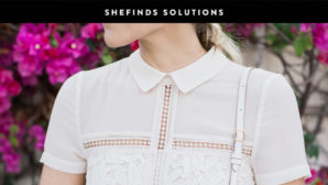 Once And For All, Here's How To Remove Makeup From Your Shirt Collar Without Changing Your Shirt #SHEfindsSolutions