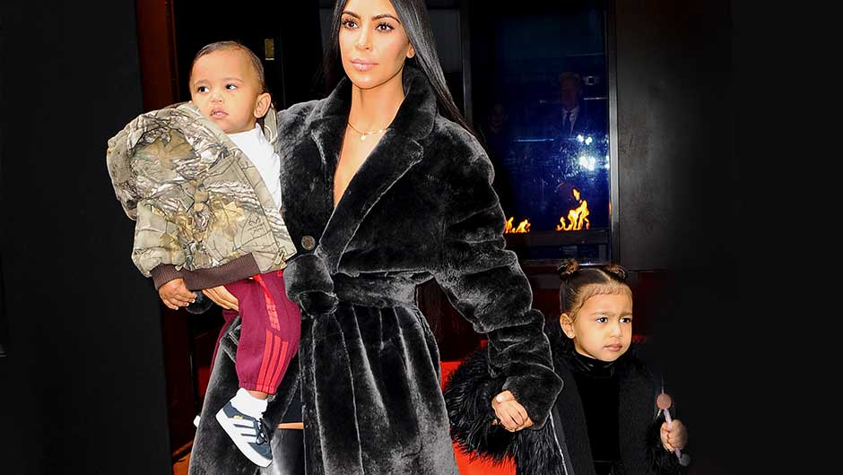 87a145eb944 Just when you thought Kim Kardashian s kids couldn t get any more  fashionable