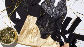 These Holiday Party Outfit Ideas All Have One Thing In Common... Lingerie!