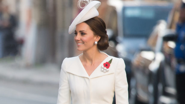 Kate Middleton Just Showed Off Her Baby Bump For The First Time & She's Further Along Than We Thought!