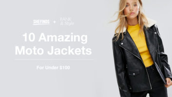 SHEfinds x Rank & Style: 10 Amazing Moto Jackets For Under $100