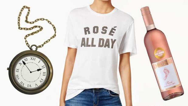 How To DIY A Rosé All Day Halloween Costume With 3 Affordable Pieces