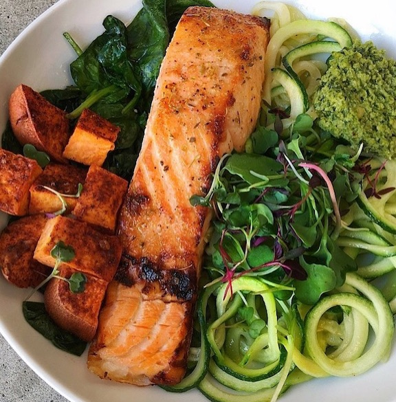 salmon weight loss