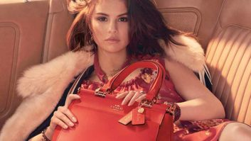 This Coach x Selena Gomez Bag Is The Only Thing We Want This Holiday Season