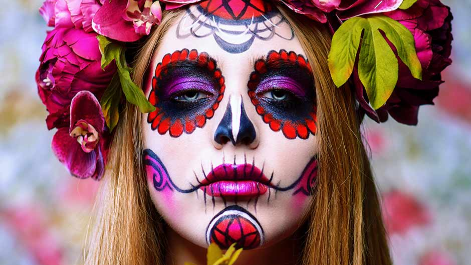 Halloween Make Up Skelet.5 Simple Steps To Creating Diy Skeleton Halloween Makeup