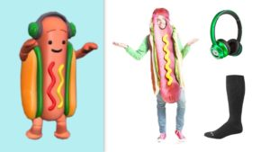 snapchat hot dog costume