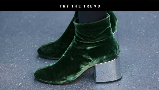 Velvet Booties Are Still Huge For Fall--Shop Our Favorites Of The Season Now