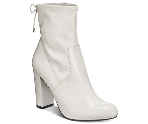 white sock boots