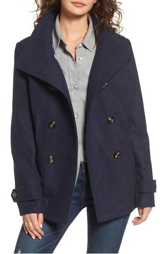 thread u0026 supply double breasted peacoat down from 58