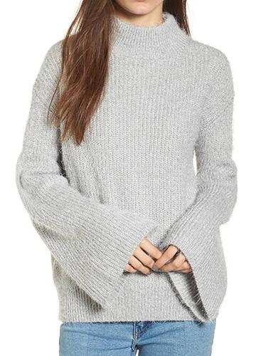 Eyelash Tunic Sweater
