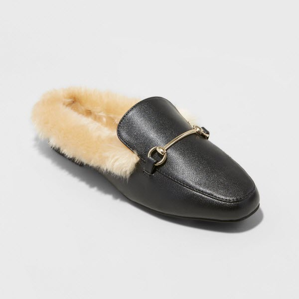 a new day backless loafers black target