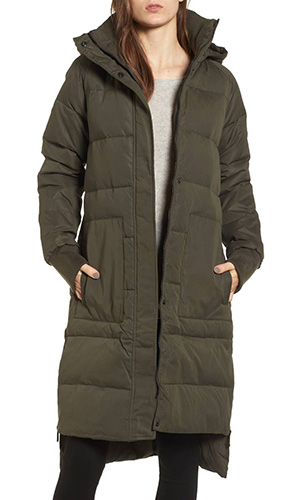 Down & Feather Fill Puffer Jacket
