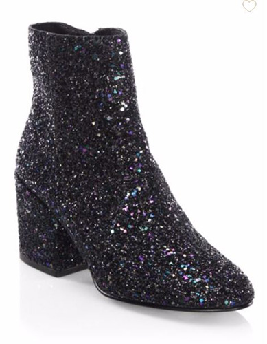 Ash Egoiste Glittered Booties