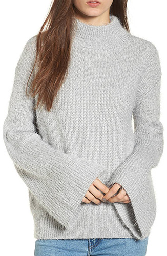 Eyelash Tunic Sweater