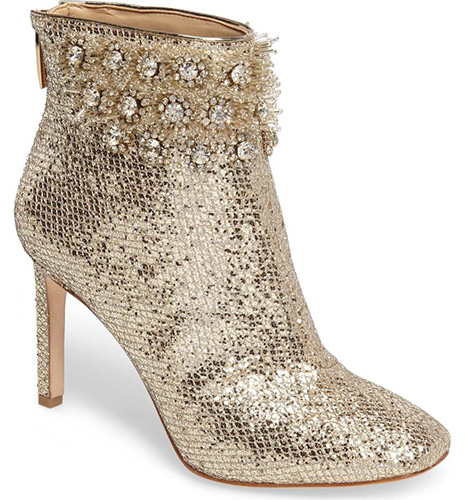 Imagine Vince Camuto Lura Crystal Flower Bootie