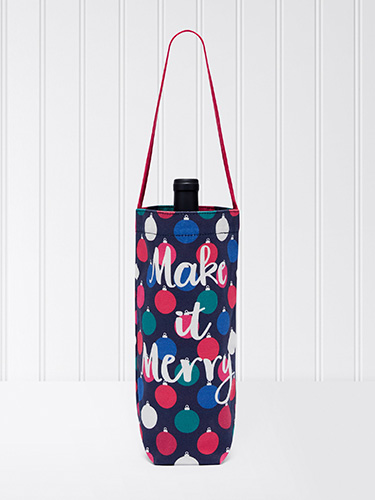 Make It Merry Wine Tote