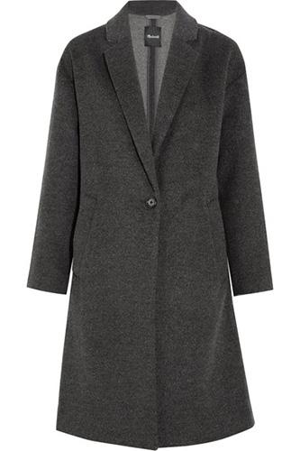 Madewell wool felt coat on sale