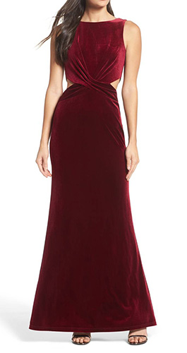 Reach Out Velvet Maxi Dress