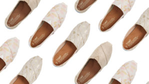 FYI, The Prettiest Metallic TOMS Slip-Ons Are Ridiculously Cheap At Nordstrom's Fall Sale