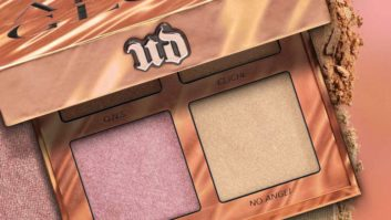 Get Up Close and Personal With Swatches Of Urban Decay's ONS Afterglow Highlighter Palette