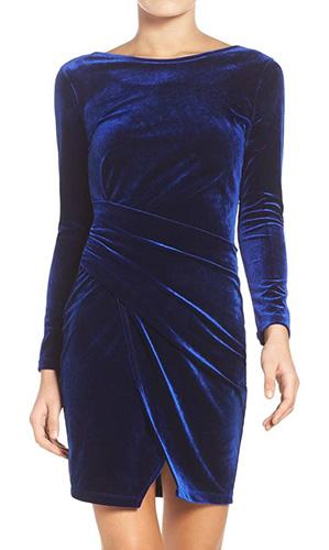 Velvet Body-Con Dress