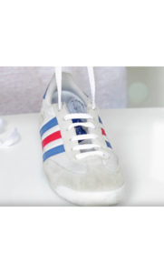 5e04b9cdf78b You can also follow a closer look for this step-by-step process on how to  straight bar lace your sneakers on our SheFinds YouTube channel here