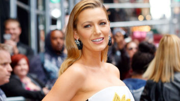 Um, Blake Lively's Hair Is Like Really, Really Short Now
